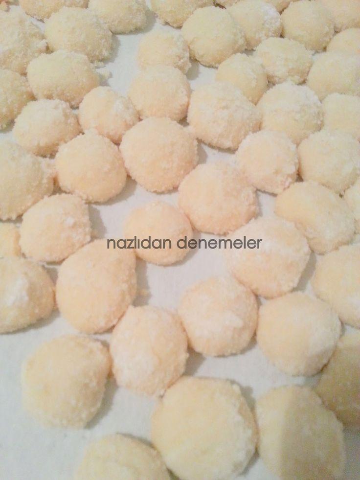 Girit Usul� Un Kurabiyesi | kurabiyeler | Pinterest