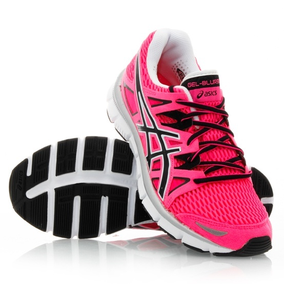 need new running shoes. Asics Gel Blur 33 - Womens Running Shoes - these  would be a great color for the road