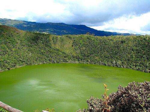 El dorado Laguna de Guatavita Colombia