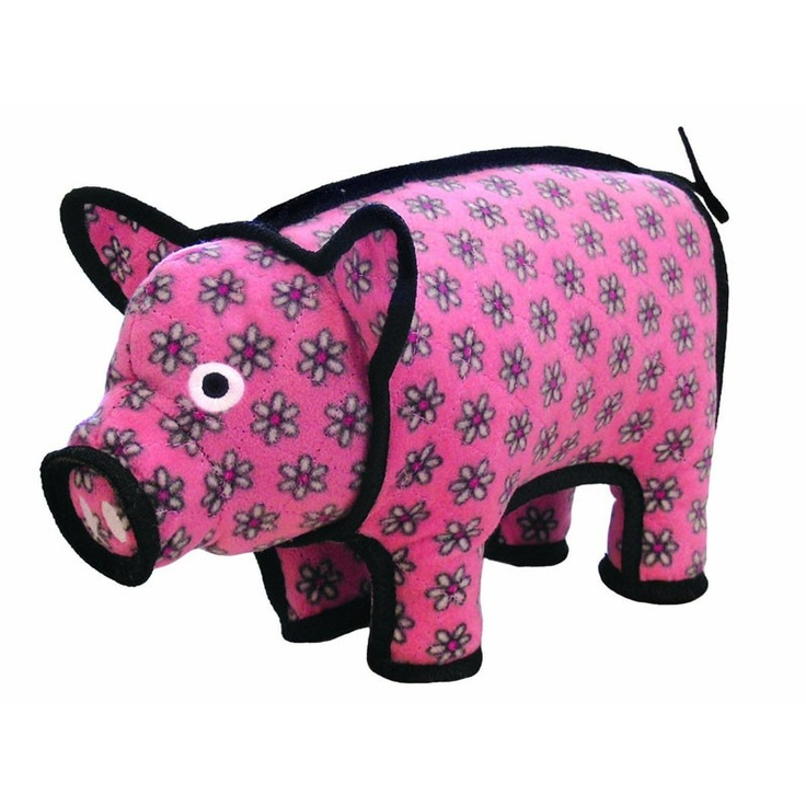 Polly the Pig SUPER TUFF Dog Toy    I want this for my dog Fizzy, so adorable and designed to survive his chewing habit