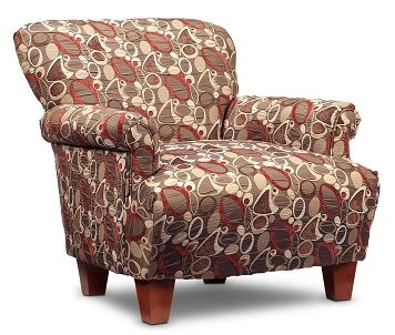 Living Room Furniture-Fiona Accent Chair