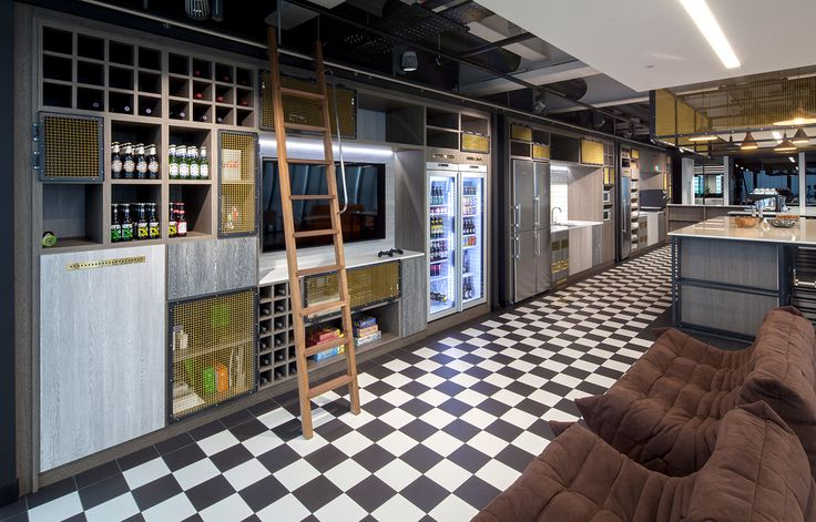 Aldworth James & Bond | The Leadenhall Building | Pantry joinery & metalwork for new office fit out in the City
