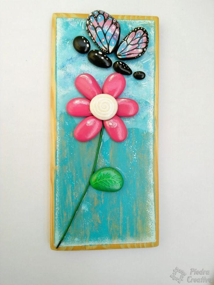 17 mejores ideas sobre pintar flores en pinterest for Tecnica para pintar piedras