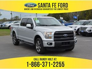 2015 Silver Ford F-150 Lariat 38105A