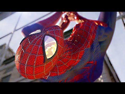 The Amazing Spider Man 2 All Cutscenes FULL MOVIE 2014