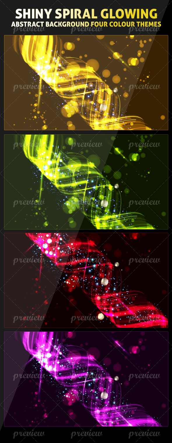 Metro Shainy Spiral Abstract Background