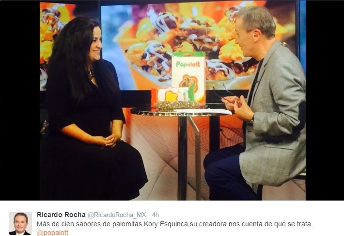 con Ricardo Rocha en Radio Formula