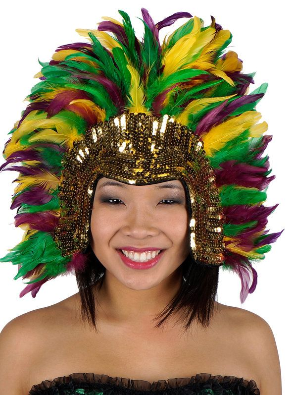 Check out Deluxe Mardi Gras Sequin Headdress | Mardi Gras Costumes and Accessories for Halloween and Costume Parties from Wholesale Halloween Costumes from Wholesale Halloween Costumes