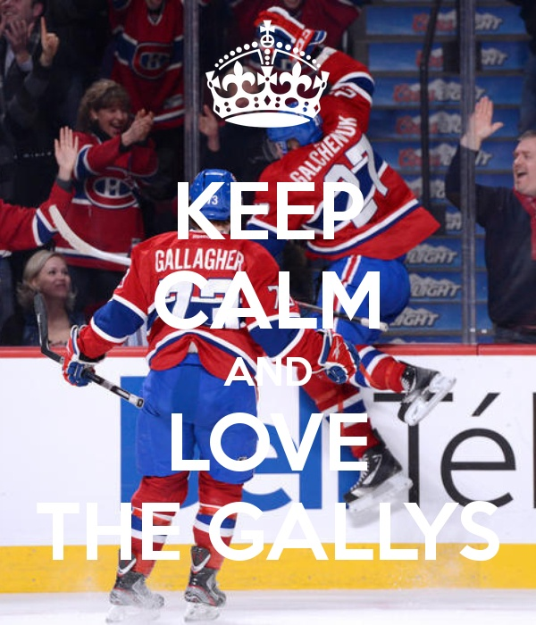 Keep Calm and Love the Gallys