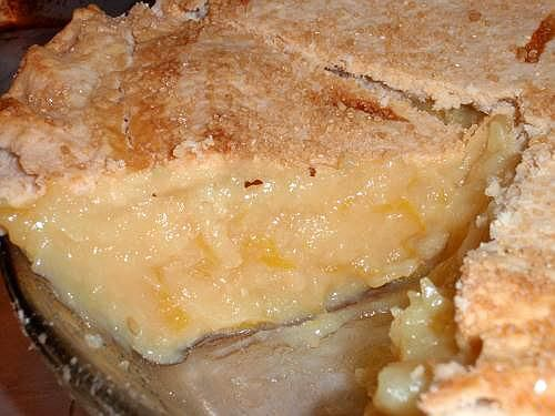 Shaker lemon pie, Lemon and Lemon pie recipe on Pinterest