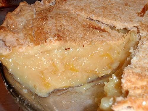 Shaker lemon pie, Lemon and Lemon pie recipe on Pinterest