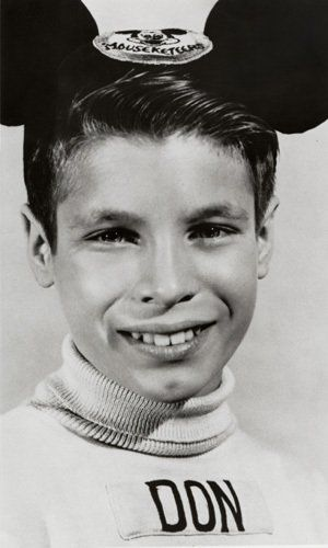 Don Grady as a Disney Mouseketter was among the original Mouseketters (not in the first yr however) - I cannot name them all anymore - can you? They used to do roll call as part of the song opening for Mickey Mouse Club. Guess I need to watch a video of that old roll call to see how many I can recall...Jimmy, Don, Darleen, Sharon, Bobby, Cubby, Annette, Tommy - that's it...I'm done...have to pull up a photo of all those 50's TV kid stars were were so enchanted with!