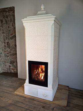 Stufa in maiolica - Kachelofen - Tile stove