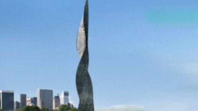 First rotating skyscraper...