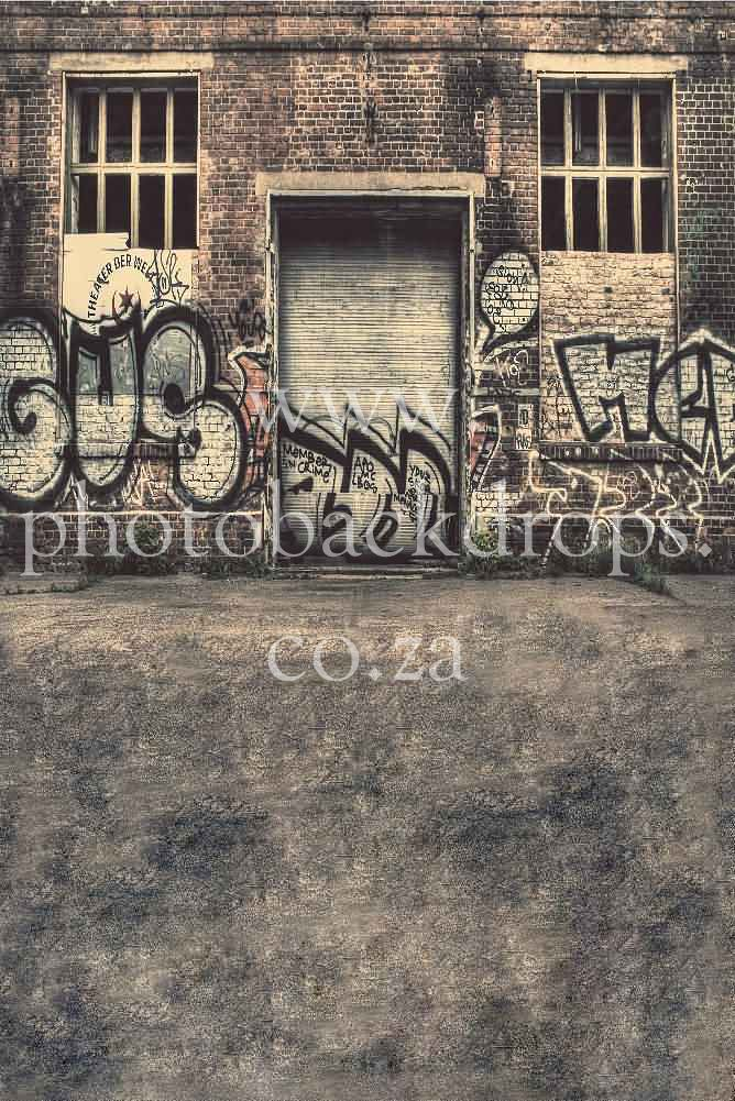 Graffiti Grunge Backdrop Available in 4 sizes candice@photobackdrops.co.za