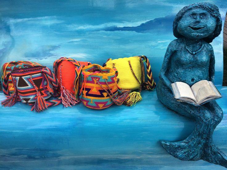 Didn't we tell you that little mermaids also love #luloplanet #wayuubags ? 😉https://www.luloplanet.com/collections/wayuu-bags Remember about 20% discount on selected products 🎯👛#mareksułek #zaczytani #fairtrade #socent #minimochila #warszawa #bulwarywiślane  #wisła #wayuu #ootd #wayuubag #polishgirl #polishwoman #ethnicfashion #slowfashion #handcrafted #rękodzieło #ręcznarobota #boho #warszawskasyrenka #syrenka #mermaid #mermaids #littlemermaid