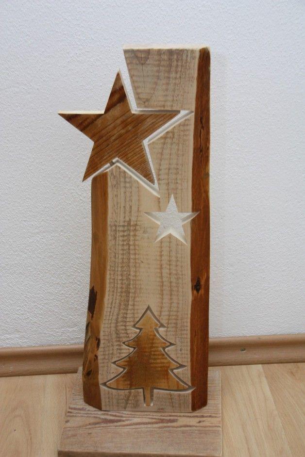Wood Star Star Wood In 2020 Weihnachten Holz Holz Deko