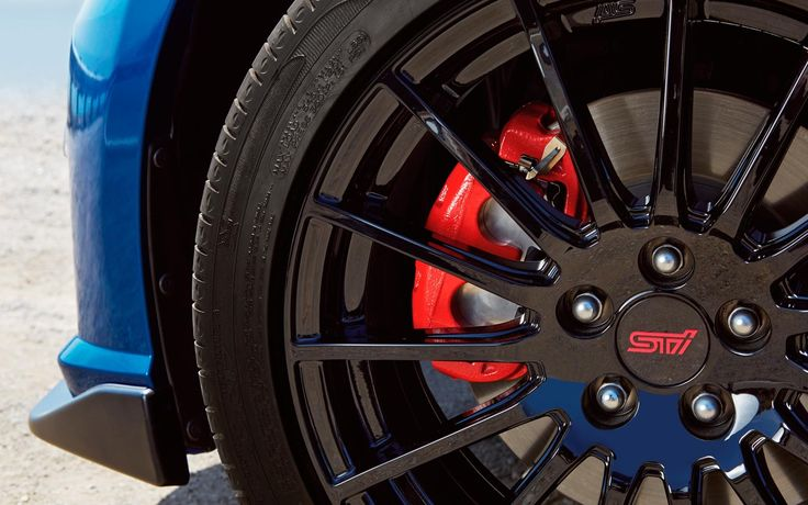 2015 Subaru Brz Red Painted Brake Calipers Wallpaper