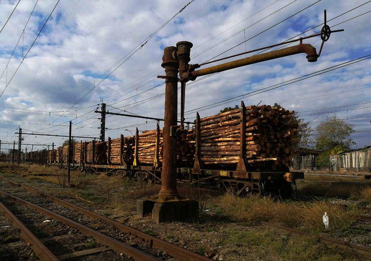 LLAVE DE AGUA. Estación de Ferrocarriles, Parral.