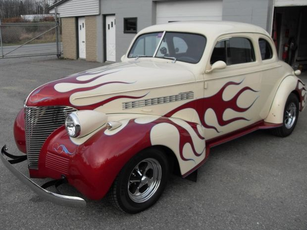 1939 Chevrolet Master Deluxe Business Coupe**