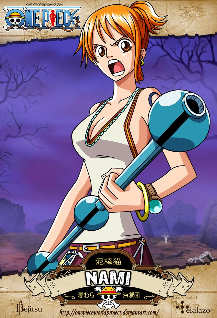 One Piece - Nami by OnePieceWorldProject.deviantart.com on