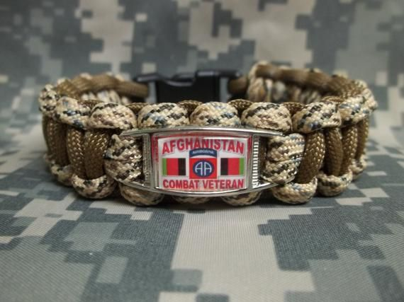 82nd Airborne Division paracord bracelet