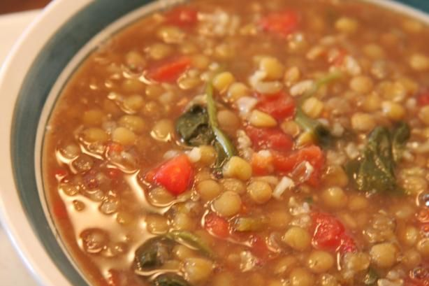 Armenian Lentil Soup. I make soup every Friday. This is next on my list of soup recipes to try.