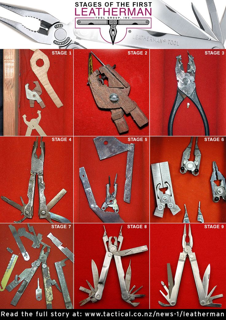 How the Leatherman was made.
