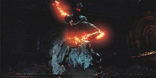 Yhorm the Giant  - DARK SOULS III   http://frikinianos.es/yhorm-the-giant-dark-souls-iii/  #gif #gamer #DarkSouls3 #Darksouls #Yhorm #DarkSoulsGame #YhormTheGiant