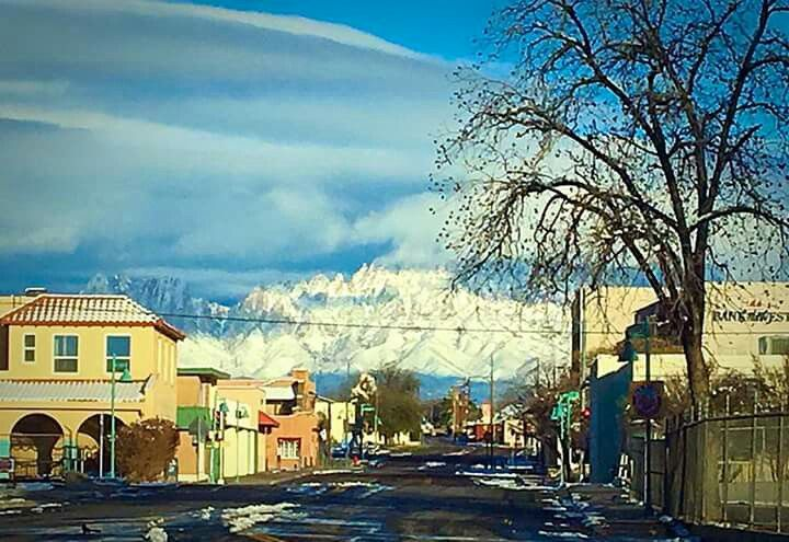 New Horizons Rv >> Downtown Las Cruces looking towards the Organ Mountains ...