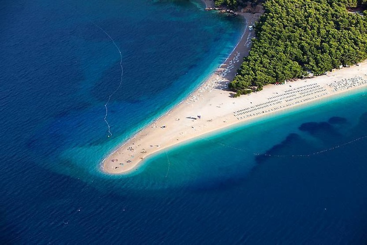 Dette er Kroatias mest berømte strand.