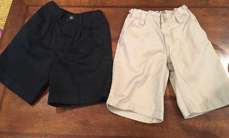 Lands End & Old Navy Uniform Shorts Mixed Lot Of 2 Boys Sz 6