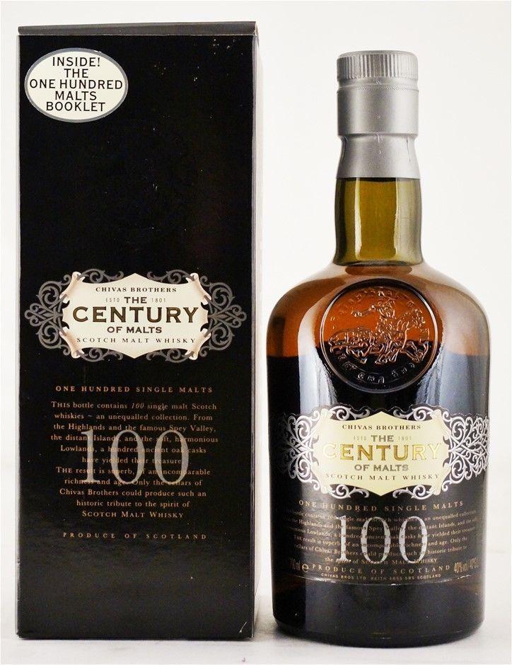 Chivas Brothers `Century of Malts` Scotch Malt Whisky (1x700ml), Scotland