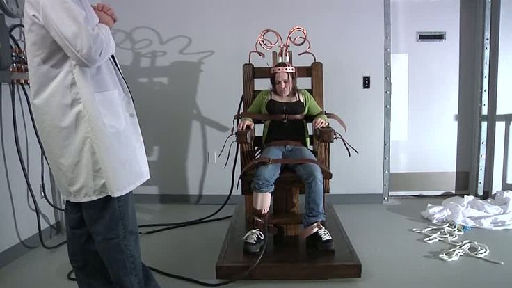 Pkf Electric Chair Experiment Themiscollection Halloween Electric Chair Chair