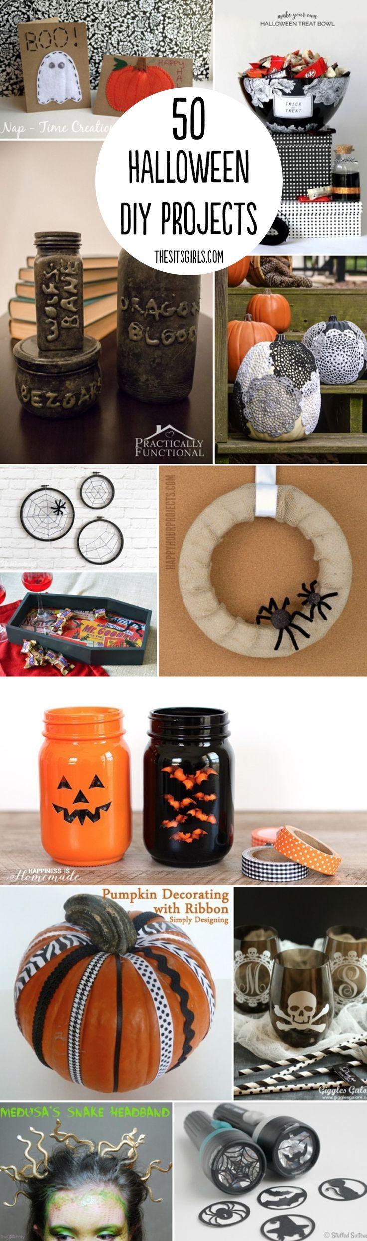 50 Halloween DIY Projects