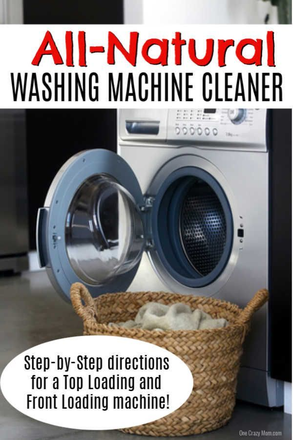 How To Clean Washing Machine Easy Step By Step Instructions