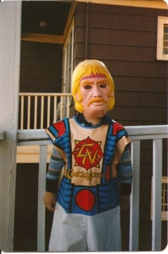Chuck Norris trick-or-treats, without ever leaving his house. | 23 Adorable Pictures Of Halloween Kid Costumes From The '80s