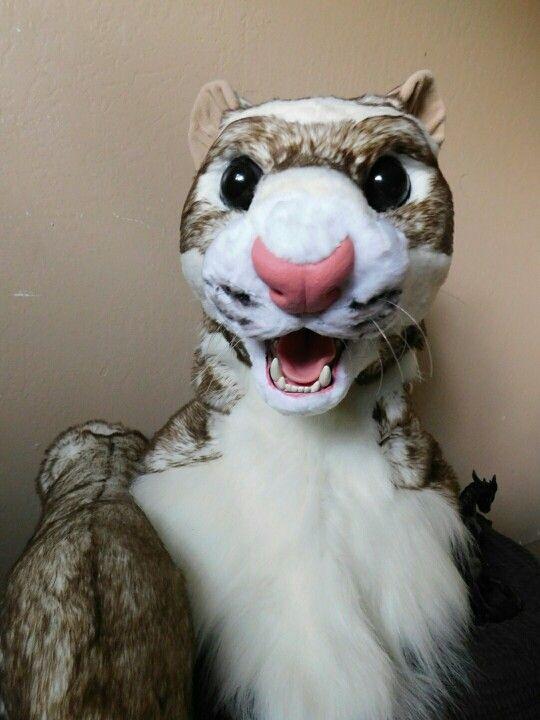 warrior cats ferret mask fursuit cosplay furry halloween stuff