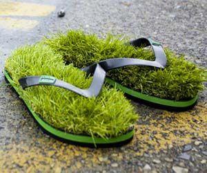 Grass Sandals.
