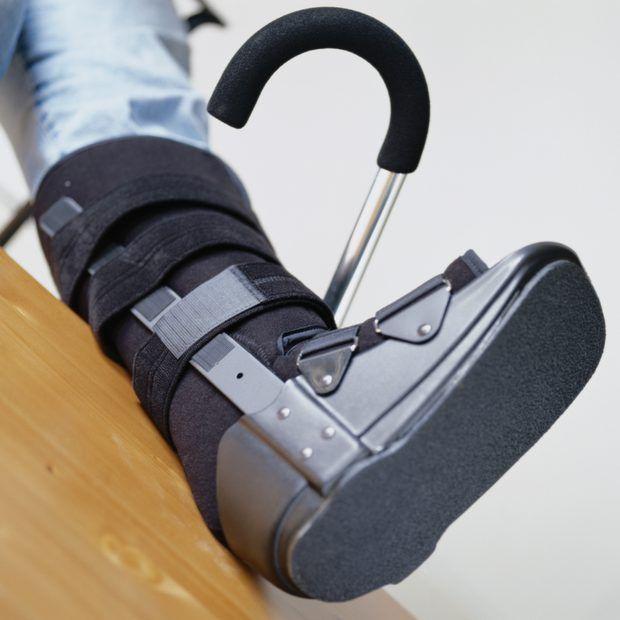 Instrucciones de inmovilización con una bota ortopédica