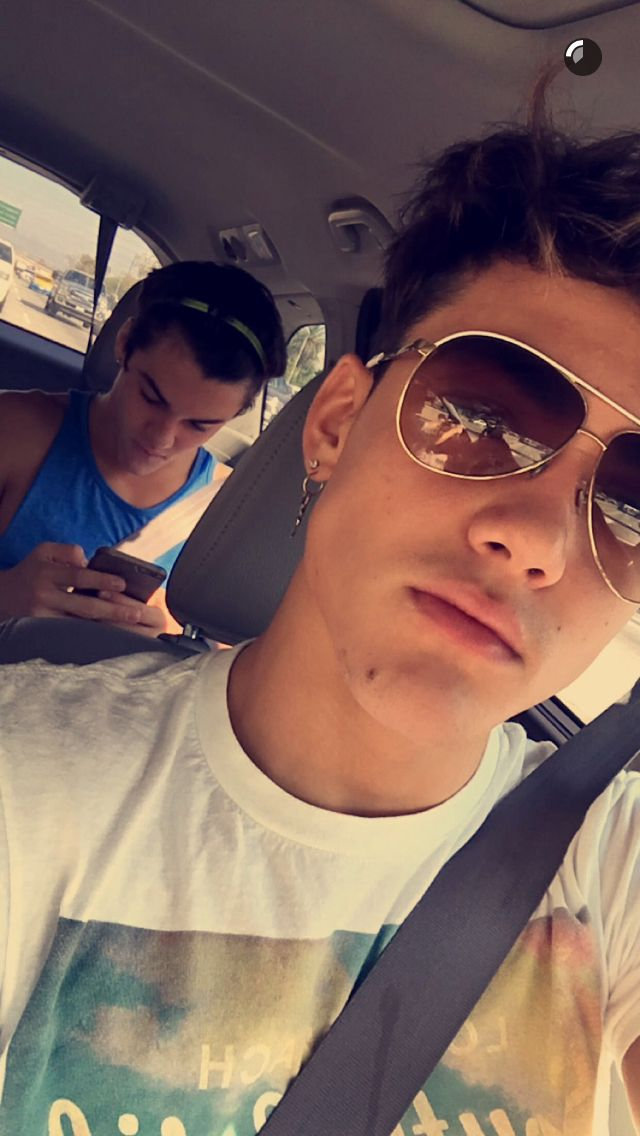 This was on Grayson's snapchat | The Dolan Twins ...