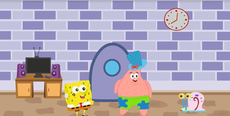 "Patrick's said : ""Spongebob, let's catch the jellyfish"""