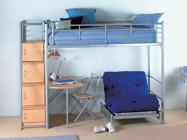 Bunk Bed With Desk And Sofa Bed Bunk Bed With Futon Chair And Desk Decorate My House Bunk Bed With Desk Ikea Bunk