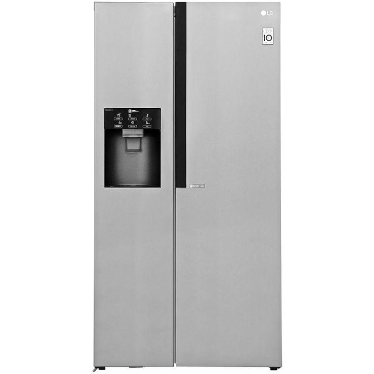 LG GSL560PZXV American Fridge Freezer - Stainless Steel £8.99, 717mm depth