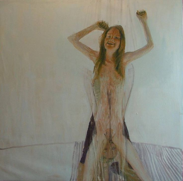 "Saatchi Art Artist Alejandro Carpintero; , ""double woman I"" #art"