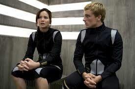 Josh & Jennifer Hutcherson as Peeta Mellark & Katniss Everdeen The Hunger Games: Catching Fire