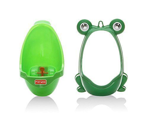Frog Potty Kid Child Toddler Boy Baby Toilet Urinal Pee Trainer Green Xmas Gift #FORYEE