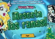 Monster High Rescata las Ranas | Juegos Monster High