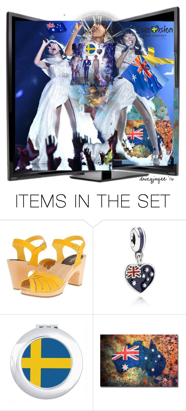 """an aussie at eurovision…fab performance dami im"" by daizyjayne ❤ liked on Polyvore featuring art, straya and damiim"