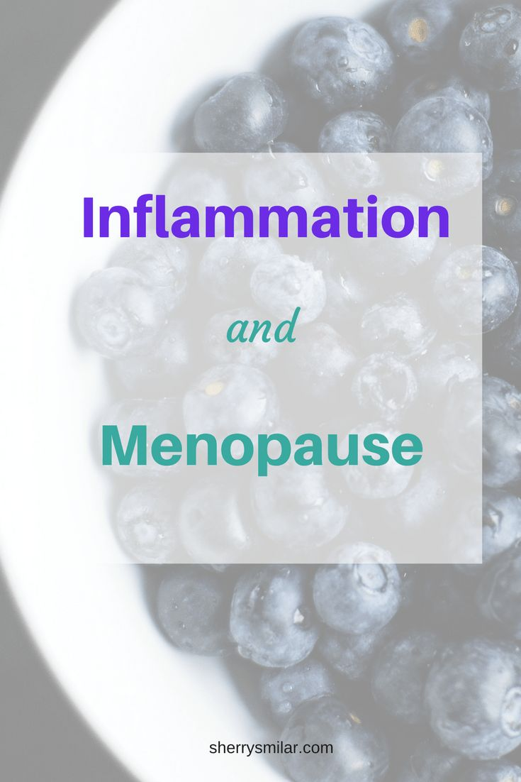 Inflammation can contribute to weight gain during menopause. It is also linked to chronic diseases that you are at increased risk of during menopause.